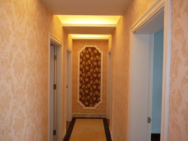 欧式走廊-欧式风格-欧洛克硅藻泥